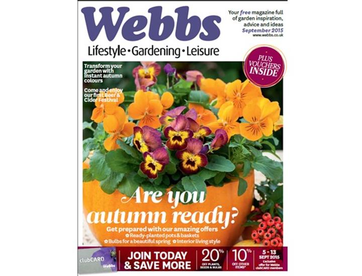 New Autumn Edition Of Beautiful Gardens
