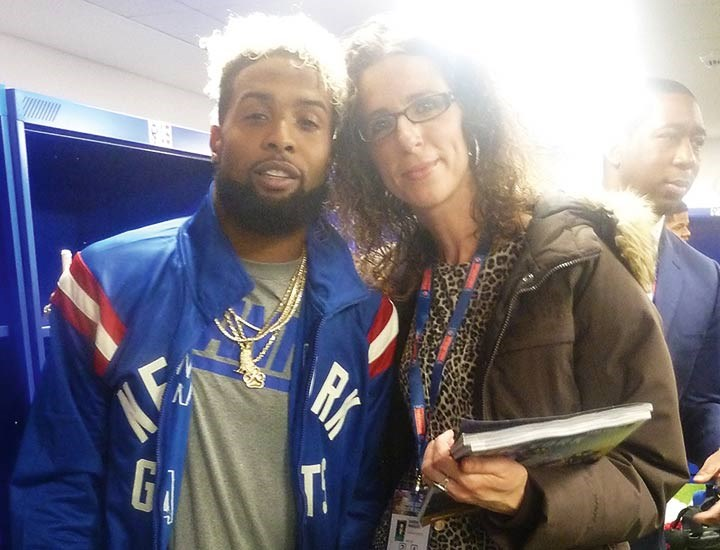 When Odell met Sandra... (again)